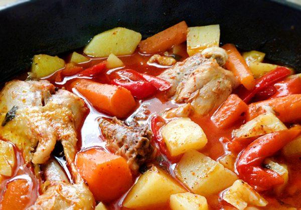 קדרת ירקות בניחוח איטלקי