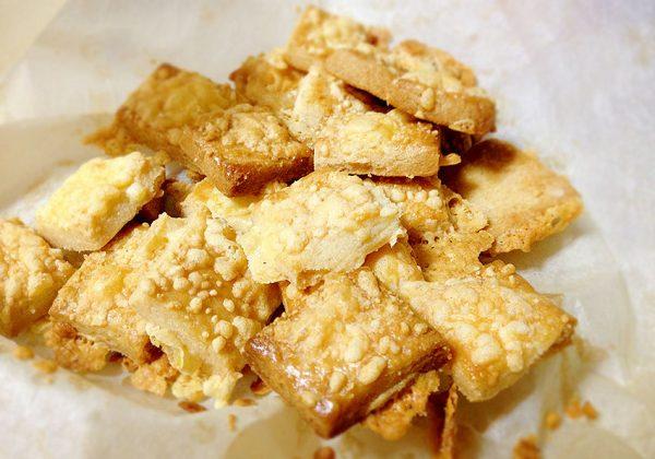 ריבועי גבינה צהובה
