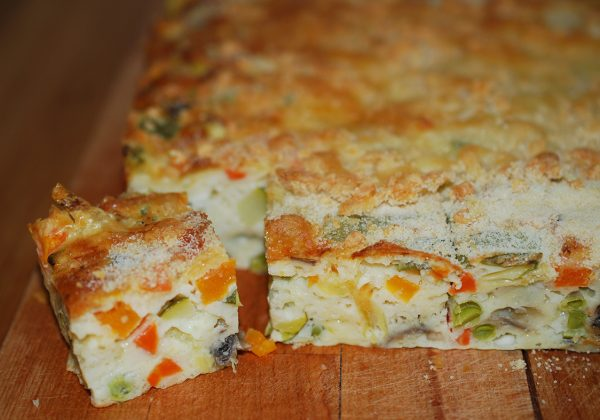 פשטידת ירקות קלה