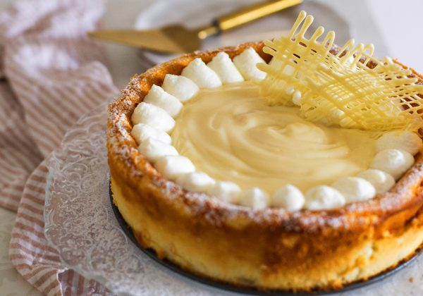 עוגת גבינה גאונית  – כשרה לפסח וללא גלוטן!