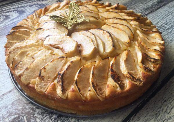 עוגת ריקוטה – תפוחים כשרה לפסח